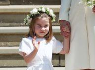 Pajem e daminha, George e Charlotte esbanjam fofura em casamento de Harry. Fotos