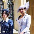 Abigail Spencer e Priyanka Chopra, amigas da noiva, foram juntas ao casamento do príncipe Harry com Meghan Markle. Priyanka escolheu um vestido da grife Vivienne Westwood