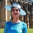 Delfina Blaquier apostou em vestido Ácheval para o casamento do príncipe Harry com Meghan Markle