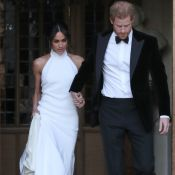 Meghan Markle usa vestido Stella McCartney em festa de casamento com Harry