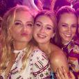 Angélica recebe Paolla Oliveira, Marina Ruy Barbosa e outras famosas no bar-mitzvá de do filho Joaquim, em 19 de maio de 2018