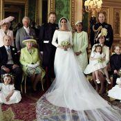 Meghan Markle e príncipe Harry divulgam 1ª foto com famílias após casamento