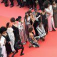 As artistas questionaram a dificuldade de atrizes negras conseguirem papeis de destaque por conta do preconceito