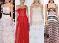 Vestidos com corset ganham destaque em Cannes. Inspire-se nos looks!