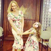 Angélica e a filha, Eva, combinam looks florais Dolce & Gabbana. Aos detalhes!
