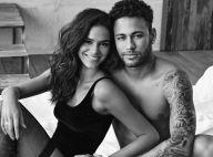 Temperatura subiu! Neymar fotografa Bruna Marquezine de lingerie em campanha