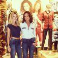 Yasmin Brunet é filha da modelo e atriz Luiza Brunet