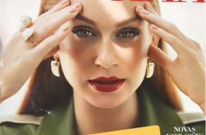 Juliana Paes brinca com capa de revista de Marina Ruy Barbosa: 'Ruim de aturar'