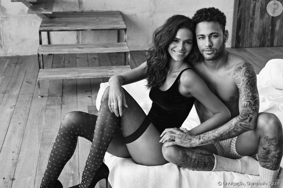'E vocês achando que o ousado do relacionamento era ele', disparou Bruna Marquezine
