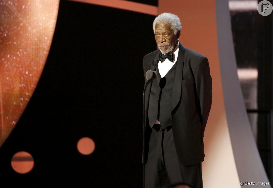 Morgan Freeman está sendo acusado de assédio sexual por oito mulheres