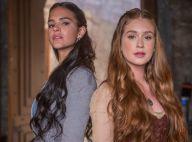 Marina Ruy Barbosa dá spoiler de briga entre Amália e Catarina:'Leve pancadaria'