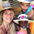 'Ela sabe que é do Malauí. Ela tem muita vontade de ir de tanto que a gente fala', contou  Giovanna Ewbank