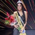 Mayra Dias, representante do Amazonas, foi coroada Miss Brasil 2018 neste sábado, 26 de maio de 2018