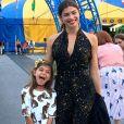Grazi Massafera homenageou a filha, Sophia, de 6 anos, pelo aniversário antes de viajar