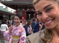 De férias, Grazi Massafera viaja ao Japão e mostra visita a templo. Vídeo!
