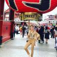 Grazi Massafera compartilhou com os seguidores sua passagem por Tóquio, no Japão