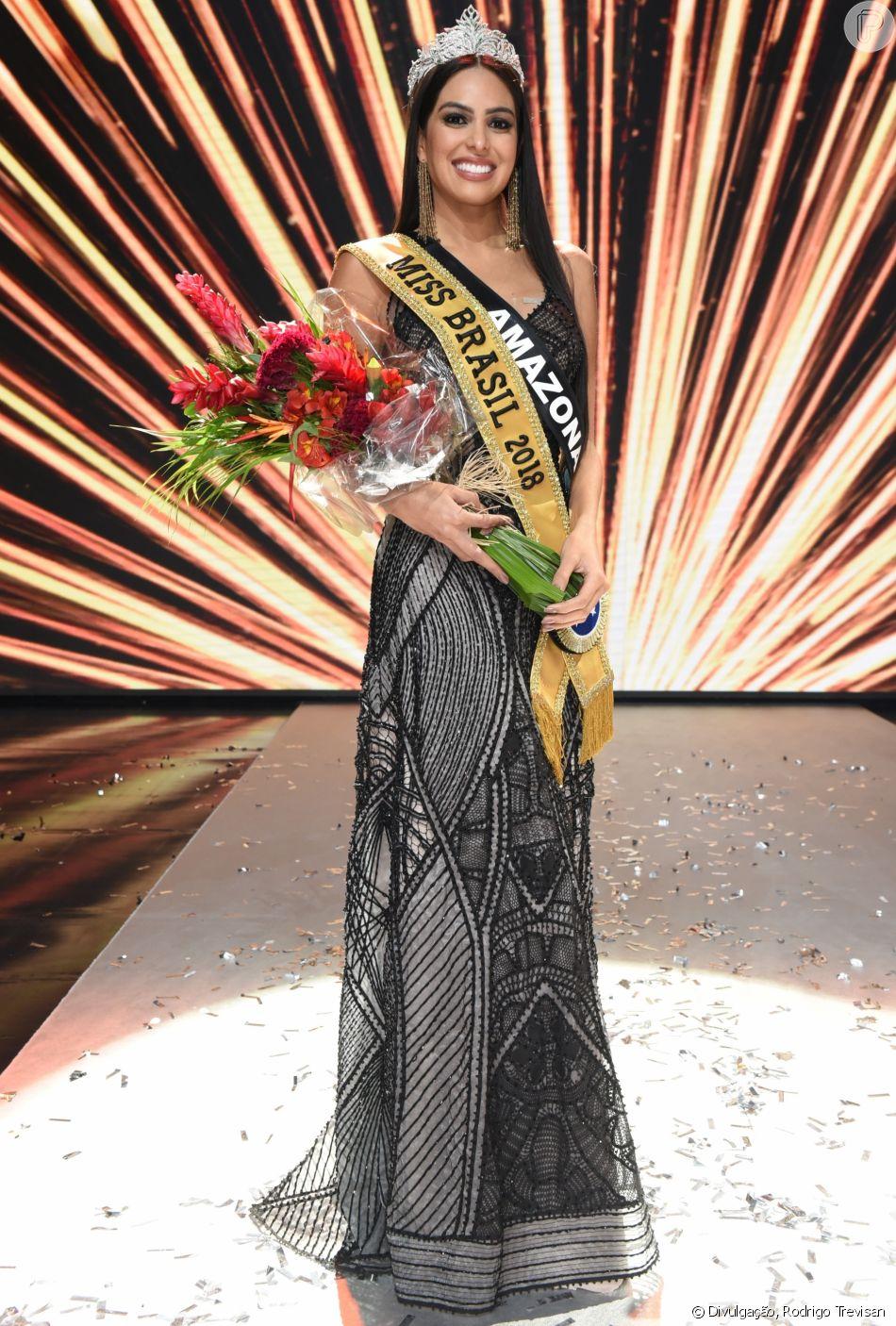 Mayra Dias, nova Miss Brasil, passou por seis concursos antes de receber a coroa neste sábado, 26 de maio de 2018