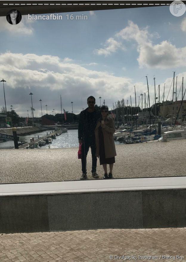 Bianca Bin exibiu nova foto com namorado, Sergio Guizé, nesta segunda-feira, 28 de maio de 2018