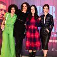 Julia Konrad, Malu Galli, Monique Gardenberg e Marjorie Estiano na pré-estreia do filme 'Paraíso Perdido', em São Paulo, nesta segunda-feira, 28 de maio de 2018