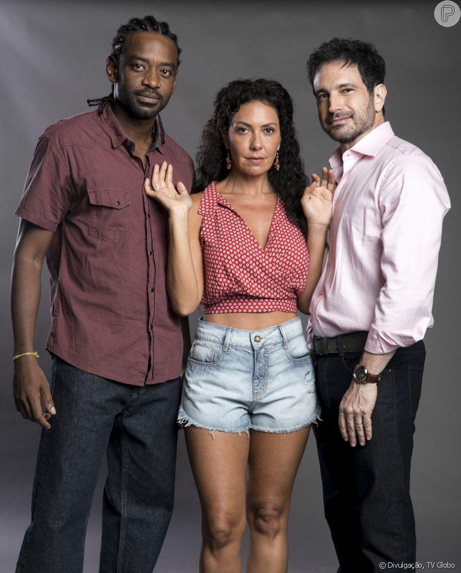 Roberval (Fabricio Boliveira) voltará para Salvador após 18 anos para se vingar da família Athayde e de Cacau (Fabiula Nascimento) na novela 'Segundo Sol'