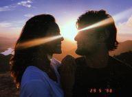 Bruno Gissoni elogia mulher, Yanna Lavigne, em foto: 'Dá brilho aos meus olhos'