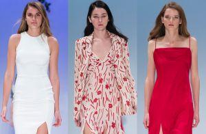 Elegante e sensual: fenda é destaque nas passarelas e ganha espaço na moda