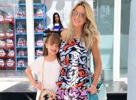 Ticiane Pinheiro leva filha, Rafaella Justus, em dia de trabalho: 'Meu chiclete'