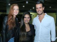 Tietes! Marina Ruy Barbosa e marido posam com Simone, dupla de Simaria. Fotos!