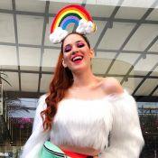 Ex-BBBs Ana Clara e Gleici marcam presença na Parada do Orgulho LGBT, em SP