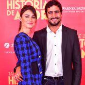Thaila Ayala é prestigiada por Renato Góes ao lançar filme com ex Paulo Vilhena