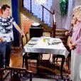 Nanci (Rafaela Ferreira) leva Waldisney (Pedro Lemos) para jantar em sua casa e o apresenta para Dona Branca (Lílian Blanc), no capítulo que vai ao ar sexta-feira, dia 15 de junho de 2018, na novela 'As Aventuras de Poliana'