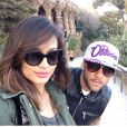 Daniel Alves e Thaissa Carvalho mantinham um relacionamento há dois anos