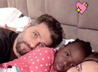 Na Itália, Giovanna Ewbank lamenta saudade do marido e da filha: 'Minha vida'