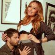 Sabrina Sato está grávida de três meses de uma menina, sua primeira filha com Duda Nagle
