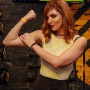 Titi Müller dribla falta de rotina com exercícios em casa: 'Faço air climber'