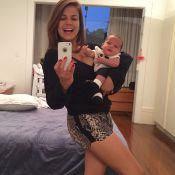 Nivea Stelmann garante, três meses após dar à luz: 'Já dá para botar biquíni'