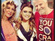 Preta Gil se diverte com piadas em gravação do 'Pé na Cova' de Carnaval
