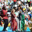 Shakira veio ao Brasil para o show de encerramento da Copa do Mundo 2014