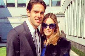 Kaká parabeniza Carol Celico pelo seu aniversário: 'Seja feliz todos os dias'