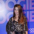 Julia Oristano apostou em aplicações de pedras para a festa de lançamento da novela 'Boogie Oogie'