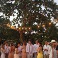 Bia Antony, ex-mulher de Ronaldo, reuniu amigos e familiares em seu casamento com Marcelo Ciampolini realizado no fim da tarde de sábado, 9 de agosto de 2014, em Caraíva, Sul da Bahia