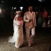 Bia Antony, ex-mulher de Ronaldo, se casa com Marcelo Ciampolini na Bahia
