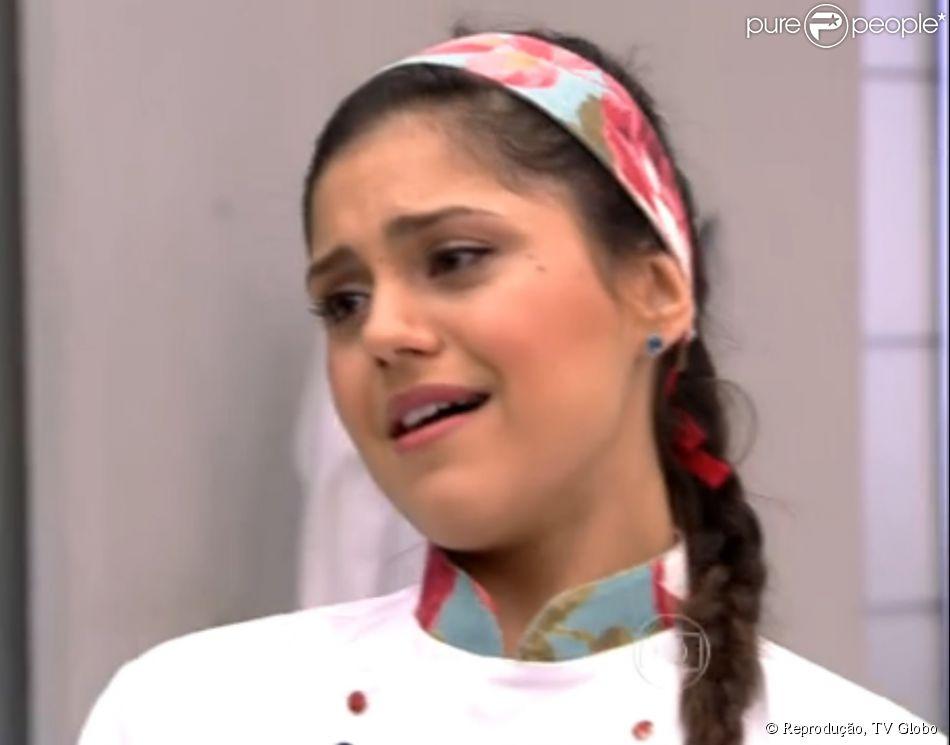 Jessika Alves foi a primeira eliminada do quadro 'Super Chef Celebridades' na manhã desta quinta-feira, 14 de agosto de 2014