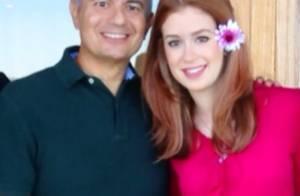 Pai de Marina Ruy Barbosa sente ciúme das cenas sensuais da filha: 'Ela cresceu'
