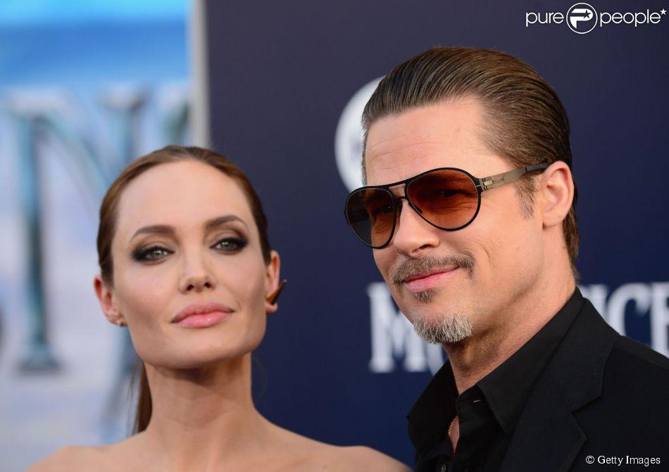 Brad Pitt e Angelina Jolie estariam juntos somente pelo filhos, diz site