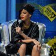 A cantora caribenha Rihanna ainda participou do 'Meet and Greet', onde encontra os fãs para tirar fotos e conversar