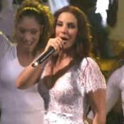 Ivete Sangalo canta sob chuva forte em Nova York: 'Amanhã vou arder de febre'