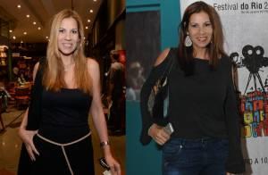 Carla Daniel aparece loira e mais magra em lançamento de livro no Rio