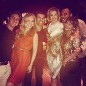 Luciano Huck comemora aniversário com Angélica e Claudia Raia: 'Meu amor'