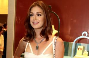 Marina Ruy Barbosa usa R$1,65 milhão em joias no mesmo evento que Klebber Toledo